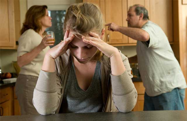 Effect of alcoholism on families