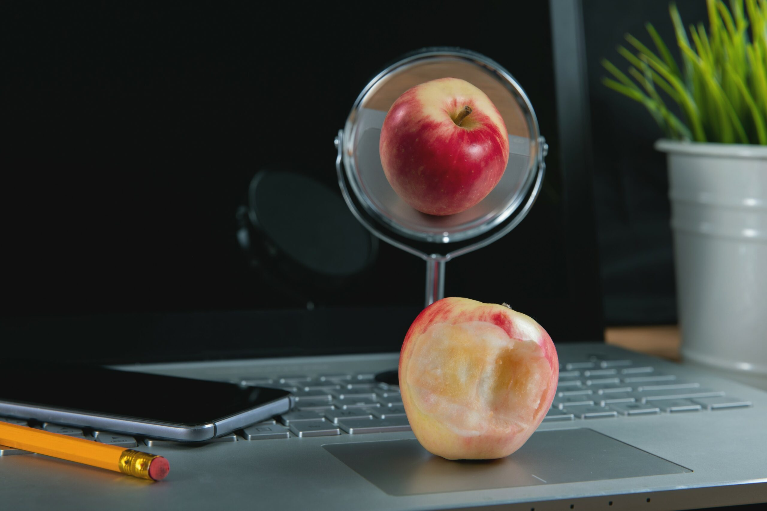 Beauty is in the eye of the webcam: Sculpting an identity in the online world